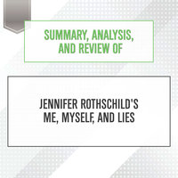 Summary, Analysis, and Review of Jennifer Rothschild's Me, Myself, and Lies - Start Publishing Notes