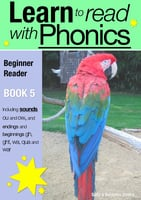 Learn to Read with Phonics - Book 5 - Sally Jones
