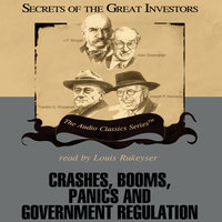 Crashes, Booms, Panics, and Government Regulation - Robert Sobel,Roger Lowenstein