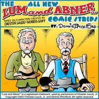 "The All New ""Lum & Abner"" Comic Strips - Donnie Pitchford"