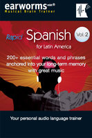 Rapid Spanish Vol. 2 (Latin American) - earworms MBT