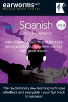 Rapid Spanish Vol. 3 (Latin American) - earworms MBT