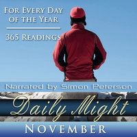 Daily Might: November - Simon Peterson
