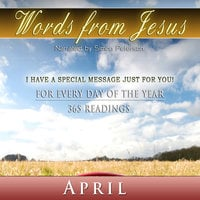 Words from Jesus: April - Simon Peterson