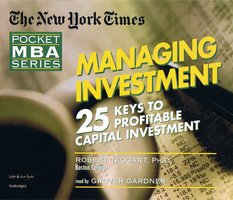Managing Investment - Robert Taggart (Ph.D.)