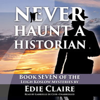 Never Haunt a Historian - Edie Claire