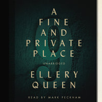 A Fine and Private Place - Ellery Queen
