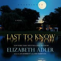 Last to Know - Elizabeth Adler