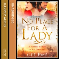 No Place For A Lady - Gill Paul
