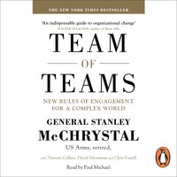 Team of Teams: New Rules of Engagement for a Complex World - Tantum Collins,General Stanley McChrystal,Chris Fussell,David Silverman