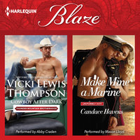 Cowboy After Dark & Make Mine a Marine - Vicki Lewis Thompson,Candace Havens