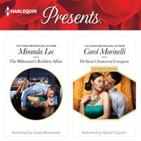 The Billionaire's Ruthless Affair & Di Sione's Innocent Conquest - Carol Marinelli,Miranda Lee