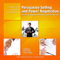 Persuasive Selling and Power Negotiation - Made for Success
