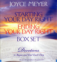 Starting Your Day Right/Ending Your Day Right Box Set - Joyce Meyer