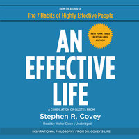 An Effective Life - Stephen R. Covey
