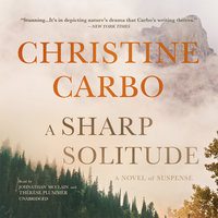 A Sharp Solitude - Christine Carbo