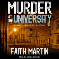Murder at the University - Faith Martin