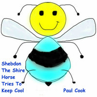 Shebdon The Shire Horse Tries To Keep Cool - Paul Cook