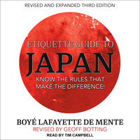 Etiquette Guide to Japan - Boye Lafayette De Mente