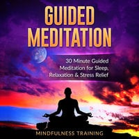 Guided Meditation: 30 Minute Guided Meditation for Sleep, Relaxation, & Stress Relief (Deep Sleep Self Hypnosis, Positive Law of Attraction Affirmations, Overcome Anxiety & Panic Attacks Techniques) - Mindfulness Training