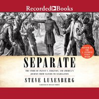 Separate: The Story of Plessy V. Ferguson, and America's Journey from Slavery to Segregation - Steve Luxenberg