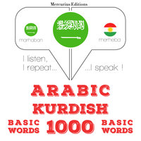 Arabic – Kurdish : 1000 basic words - JM Gardner