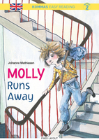 Kommas Easy Reading: Molly Runs Away - niv. 2 - Johanne Mathiasen