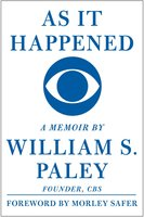 As It Happened - William S. Paley