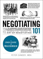Negotiating 101 - Peter Sander