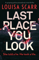 Last Place You Look - A gripping police procedural crime thriller - Louisa Scarr